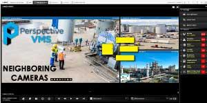 PVMS Neighboring Cameras Feature