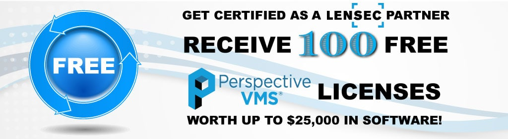 LENSEC Certified Partners Receive 100 Free PVMS Licenses