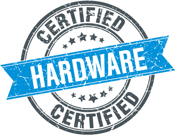 Perspective VMS® Hardware Certification