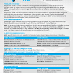 Perspective VMS® Product Datasheet 2017