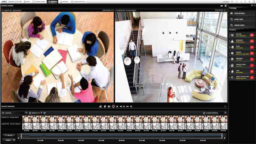 Perspective VMS® - Video Management Software for the Security