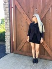 2017 Wear Much Black L'ensemble