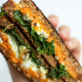 not your average (feta) grilled cheese