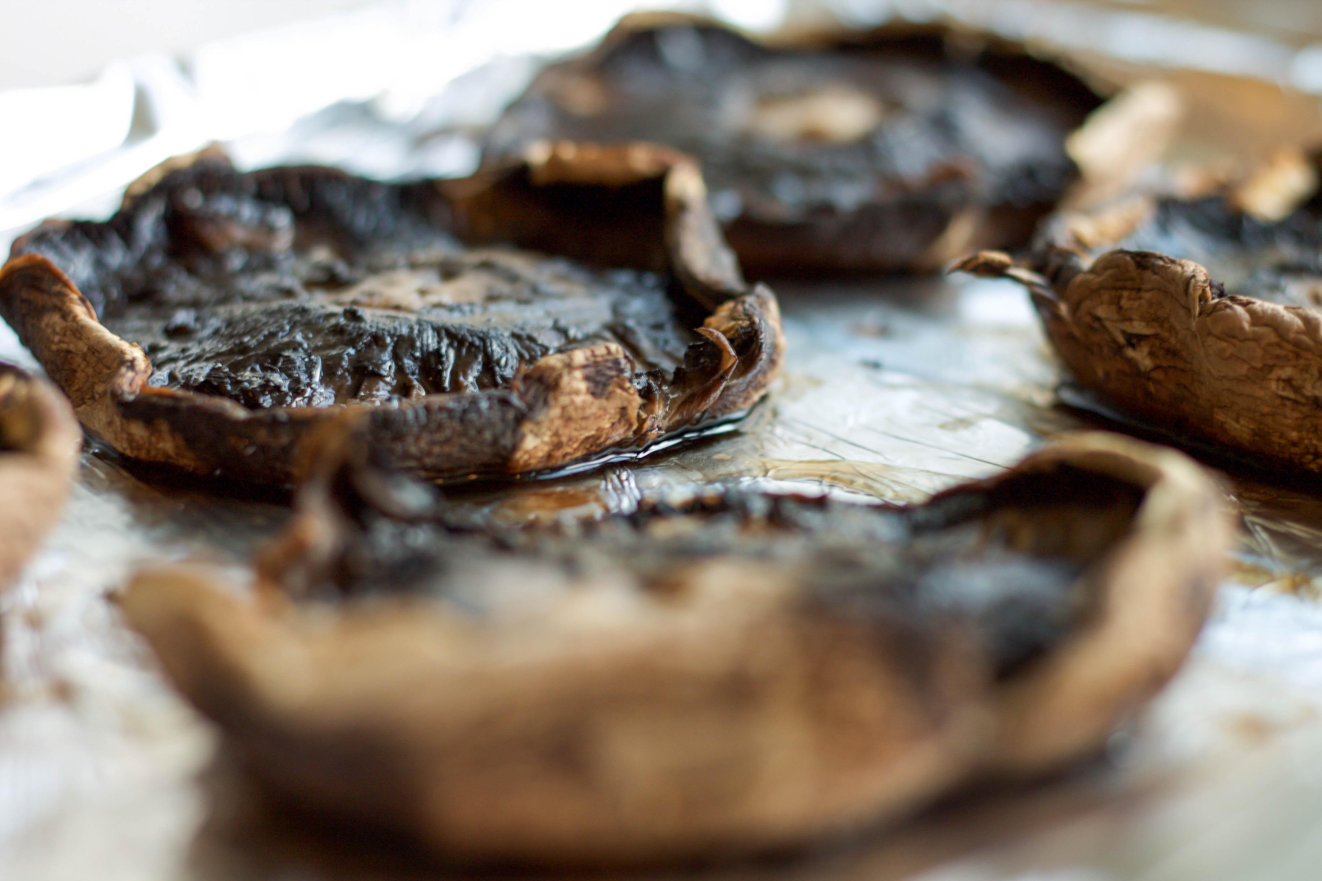roasted portobellos mushrooms