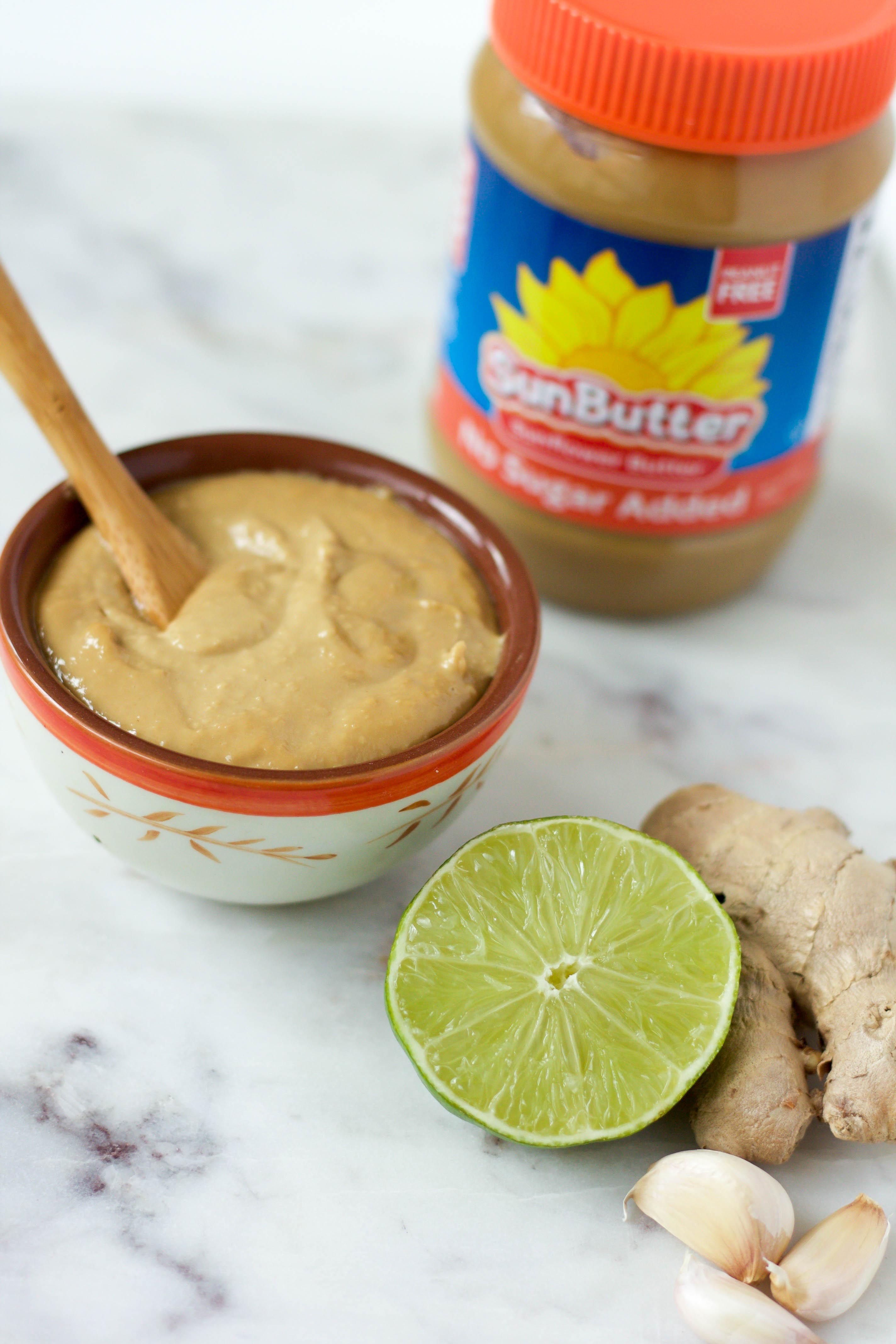 nut-free thai sauce feat. sunbutter