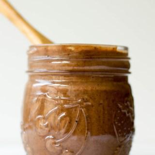 chocolate hazelnut cashew butter