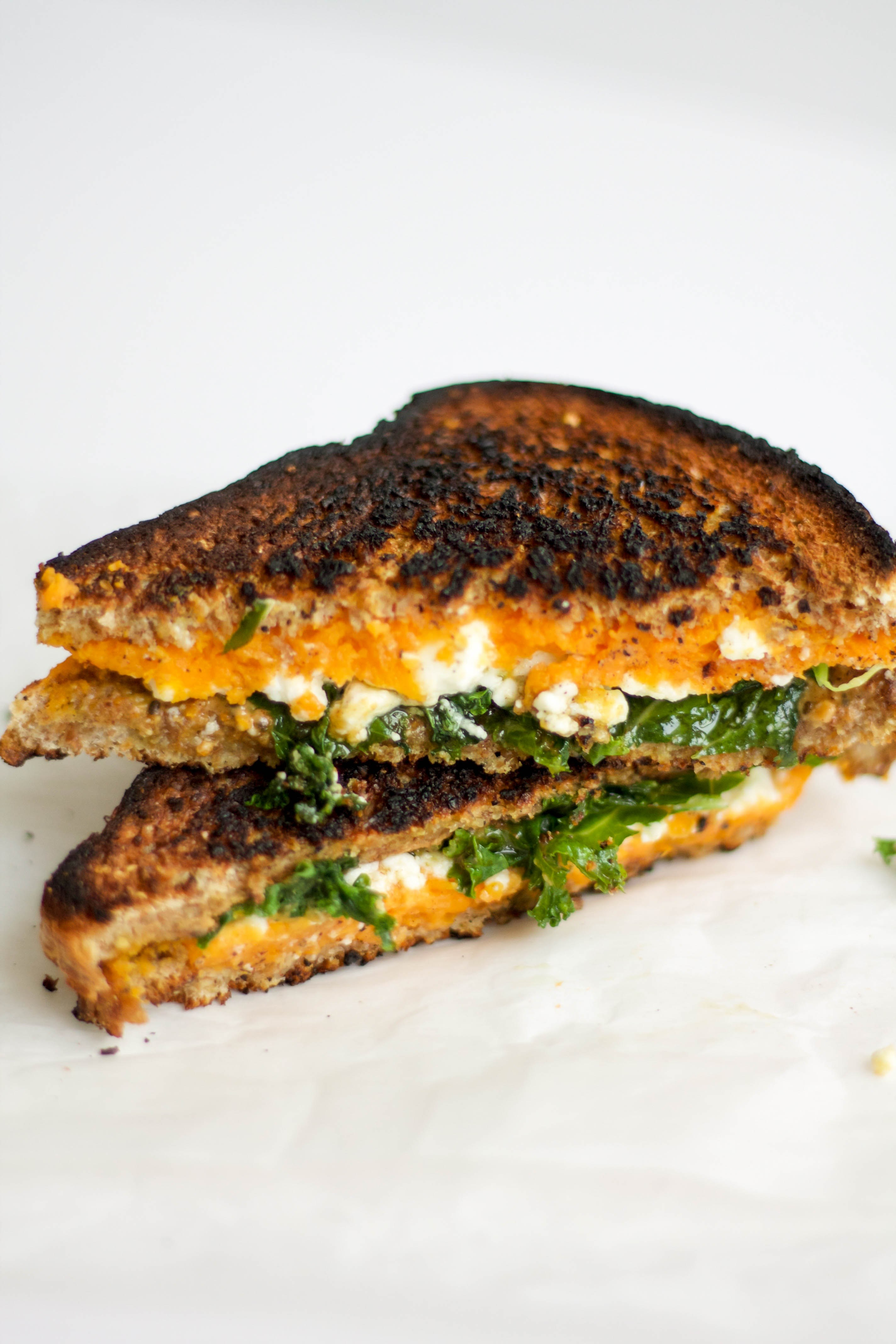 feta grilled cheese; road trip eating