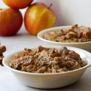 My Favorite Food to Cook & Apple Pie Oatmeal