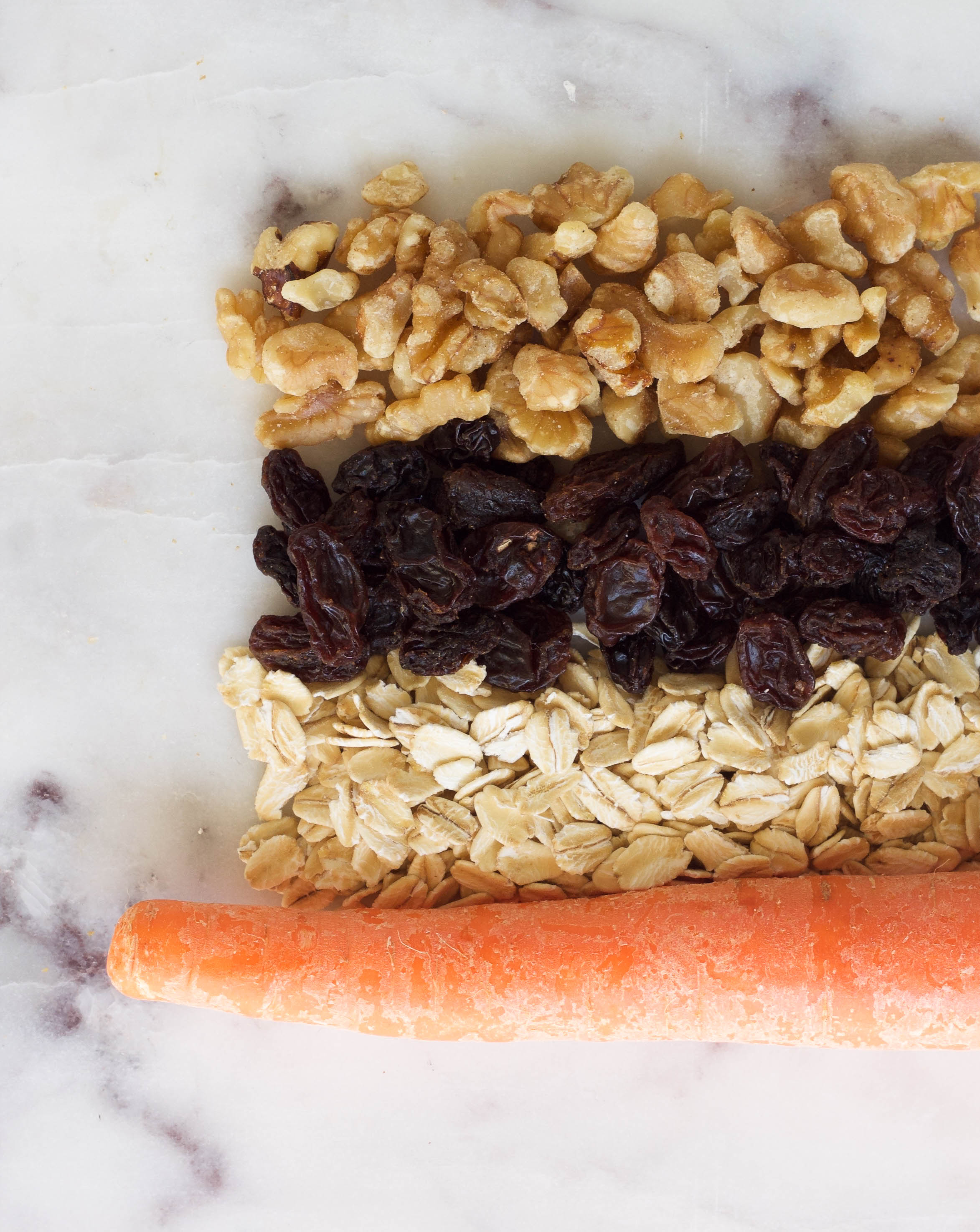 carrot cake granola bars