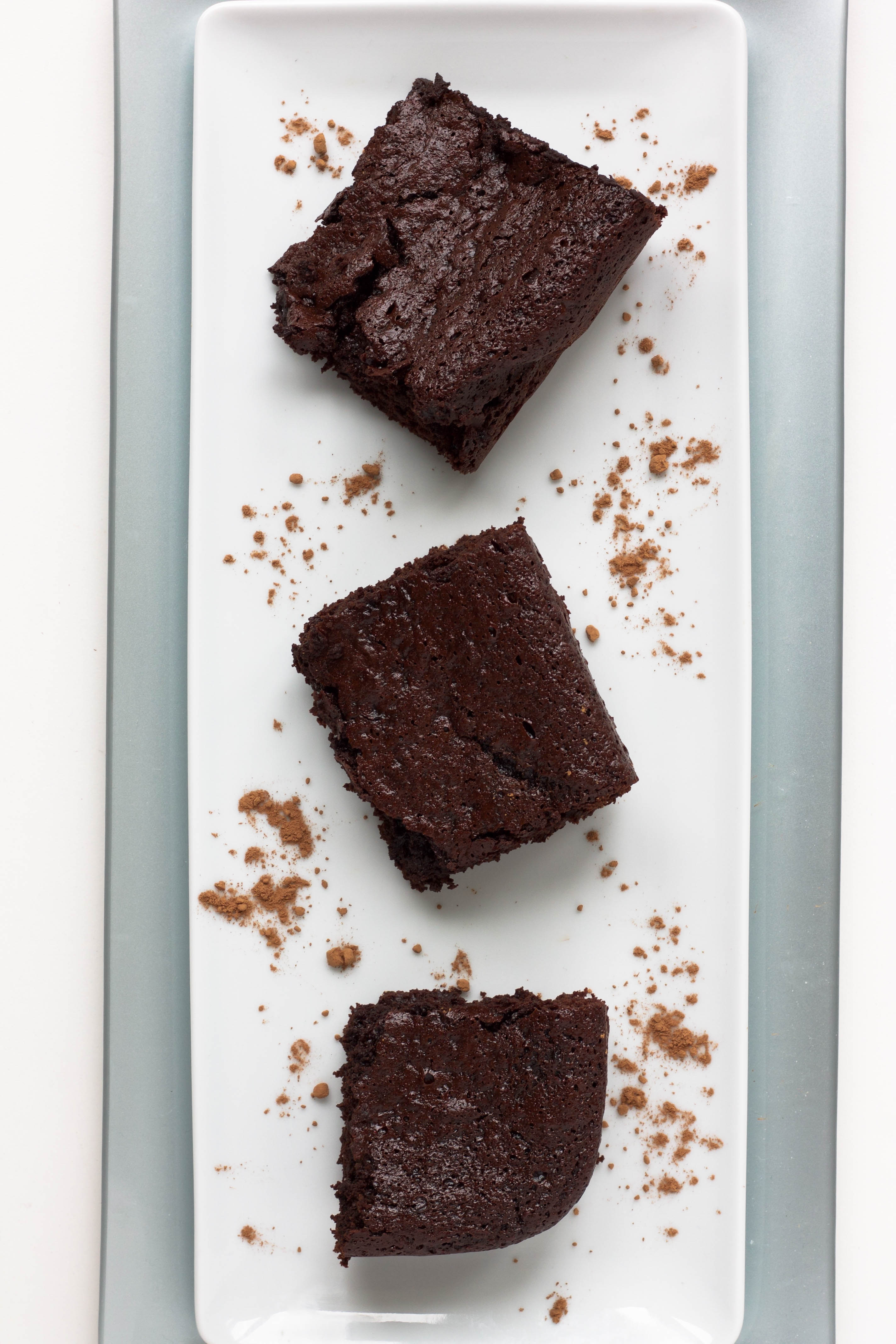flourless mocha brownies