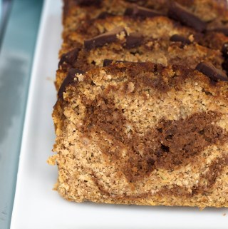Gluten-Free Chocolate Swirl Banana Bread