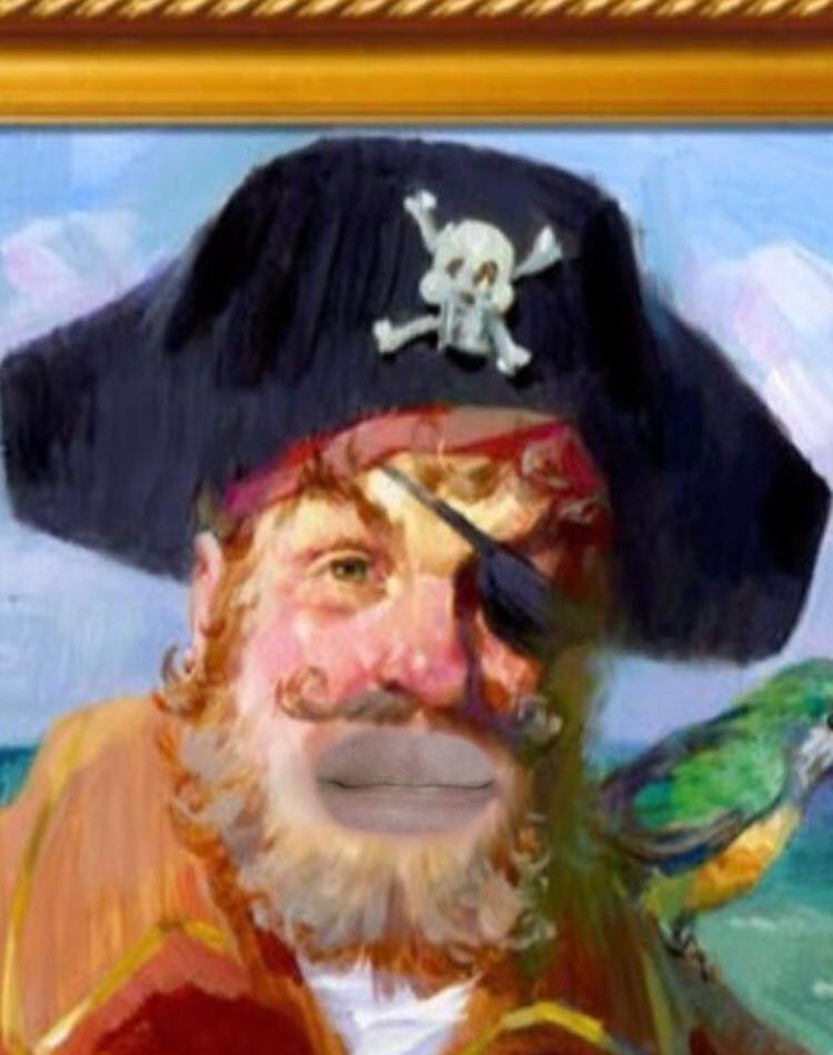 Who Plays The Pirate In Spongebob : plays, pirate, spongebob, Painty, Pirate, (Spongebob), Snapchat, Filter