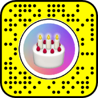Bday Countdown Birthday Snapchat Lens & Filter
