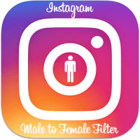 Male to Female Instagram Filter Download - Gender Swap Boy to Girl Lens for IG