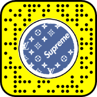Louis Vuitton x Supreme Print Snapchat Lens & Filter