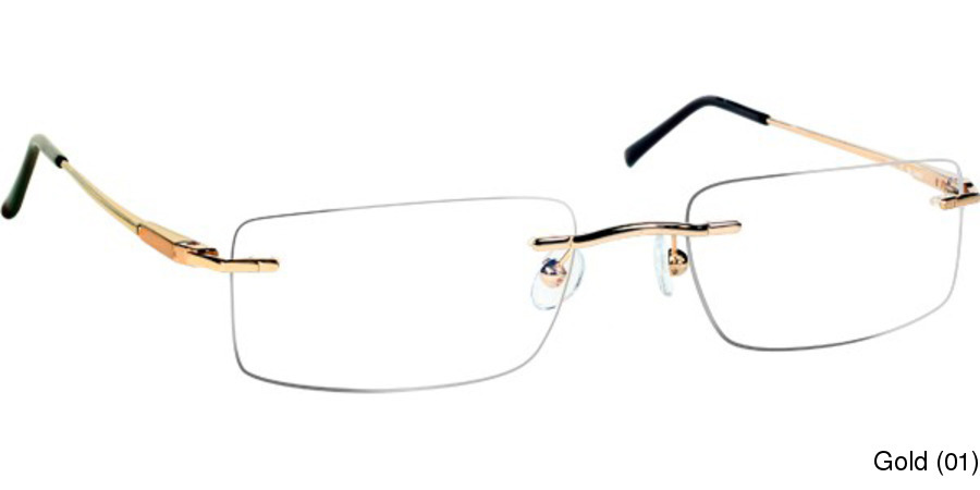 Mount MUA Rimless / Frameless Prescription Eyeglasses
