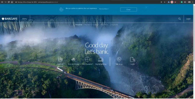 Barclays Bank Zambia Gets New URL Portal Fresh Look 1