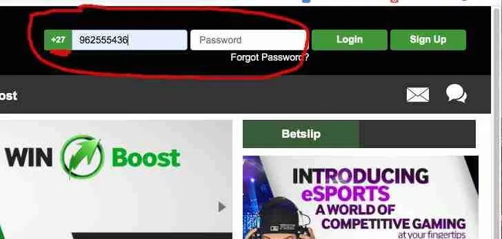 Is Betway Zambia down 1