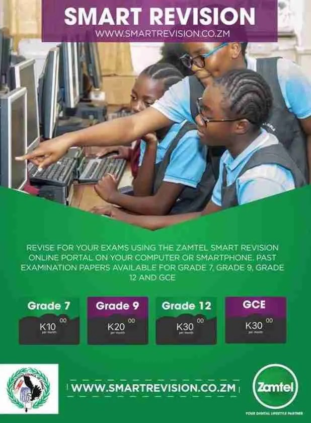 Zamtel launches e-Learning and Smart Revision portal 1