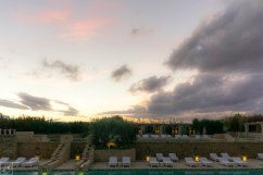 sunset over Puglia