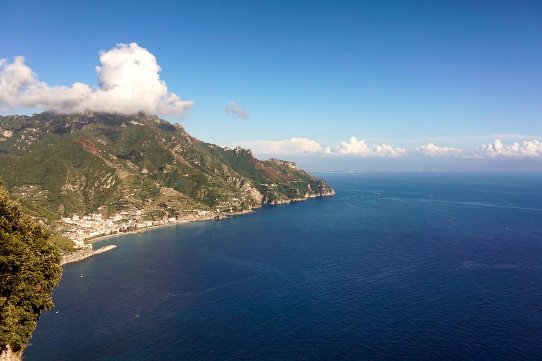 Villa Cimbrone views Maiori