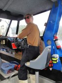 Our water taxi driver