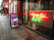 the amazing Big Lebowski Bar!