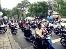 crazy traffic!
