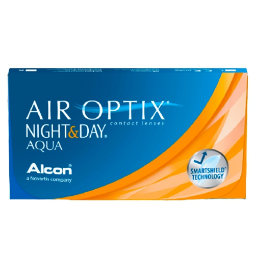 Air Optix Night and Day Aqua lens, Air Optix Night & Day Aqua, aylık lens