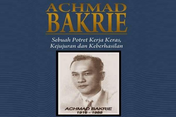 Achmad Bakrie Pendiri Group Bakrie