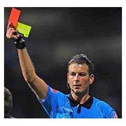 Kartu merah dan kuning sepak bola
