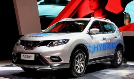 nissan new x-trail hybrid