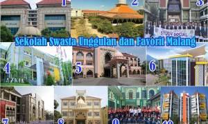 Sekolah Swasta Unggulan dan Favorit di Malang