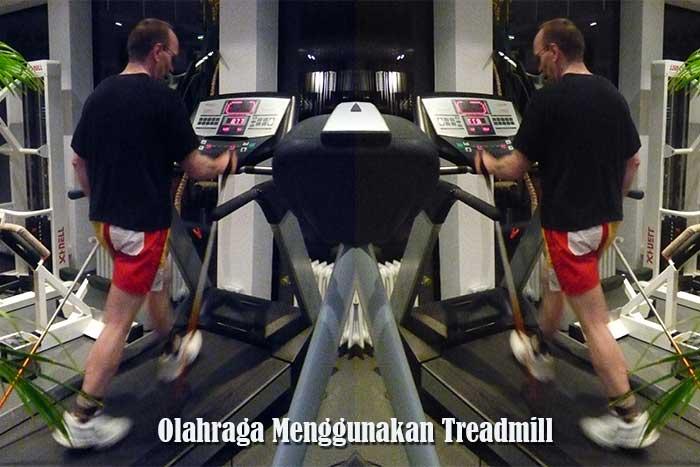 olahraga Menggunakan Treadmill