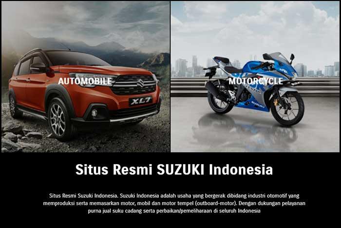 Situs Main Dealer Suzuki Terbaru