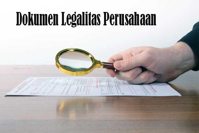 Dokumen Legalitas Perusahaan