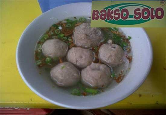 Resep Kuah Bakso Solo Asli