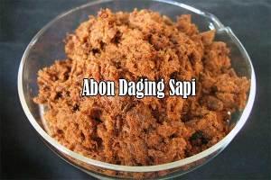 Abon Daging Sapi