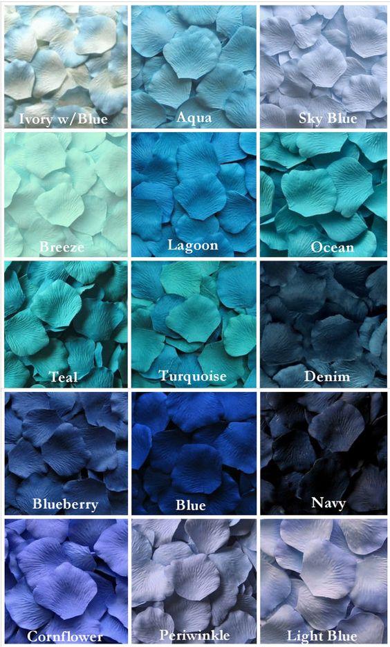 Macam Warna Biru : macam, warna, Jenis, Warna