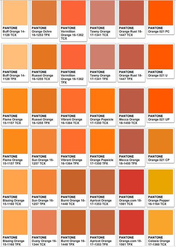 kode warna orange