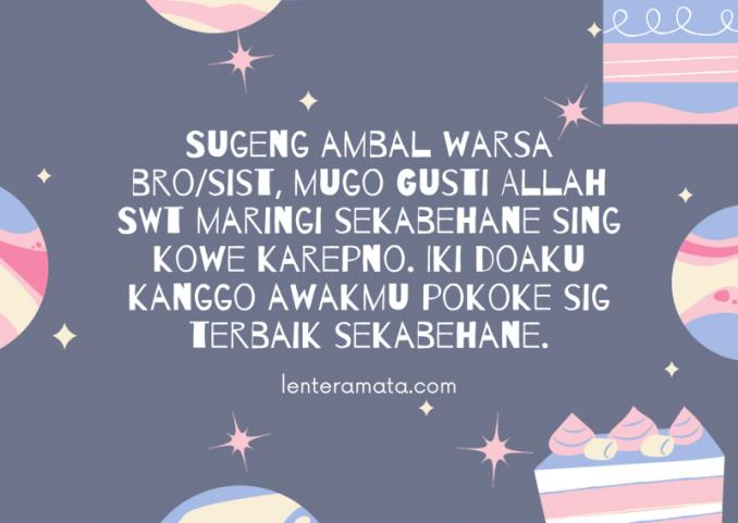 gambar ucapan ulang tahun bahasa jawa kasar, ucapan ulang tahun bahasa jawa kromo inggil, ucapan ulang tahun bahasa jawa, ucapan selamat ulang tahun bahasa jawa, ucapan selamat ulang tahun dalam bahasa jawa, ucapan ulang tahun bahasa jawa halus, ucapan ulang tahun bahasa jawa dan artinya, selamat ulang tahun bahasa jawa timur, lagu selamat ulang tahun bahasa jawa, selamat ulang tahun bahasa sunda, ucapan ulang tahun bahasa arab, ucapan ulang tahun isla, ucapan ulang tahun lucu, ucapan selamat ulang tahun bahasa jawa kasar, kata kata ucapan selamat ulang tahun bahasa jawa, gambar ucapan selamat ulang tahun bahasa jawa