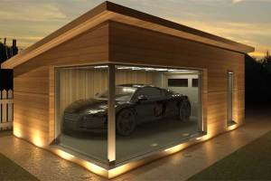 ukuran garasi ideal