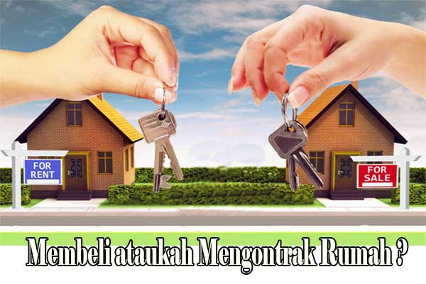 beli atau kontrak Rumah
