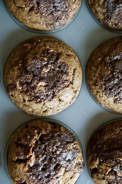 Chocolate Chocolate Rye Muffins