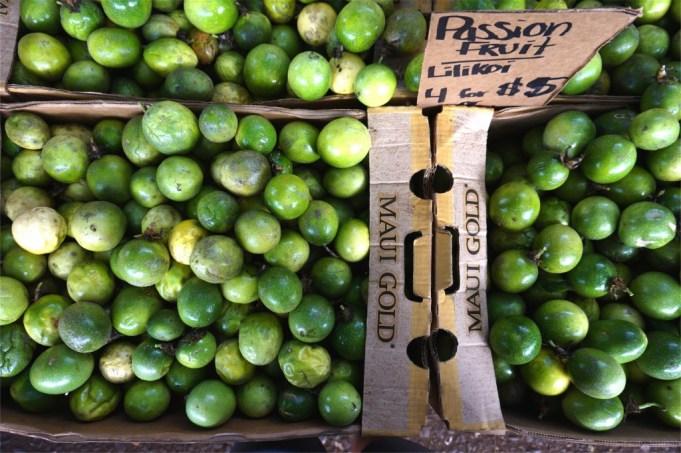Passion Fruit at Olowalu Market