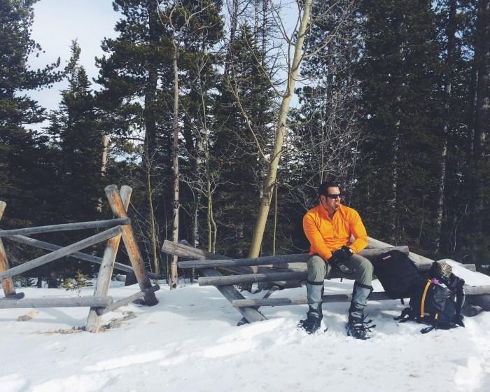 Snack Break in the Indian Peaks Wilderness