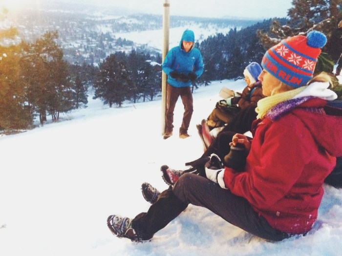 Friends + Fun Above Boulder