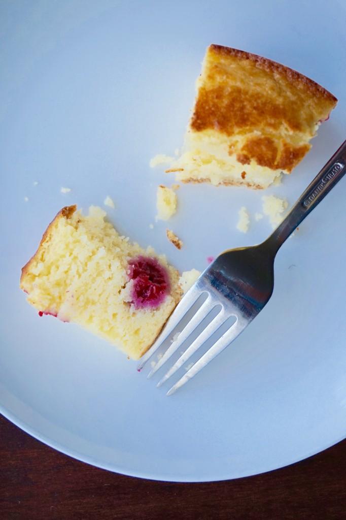 ricotta raspberry cake 2