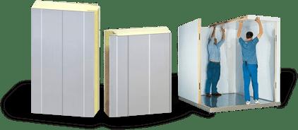 Panneau isolant pour chambre froide et chambres conglateur
