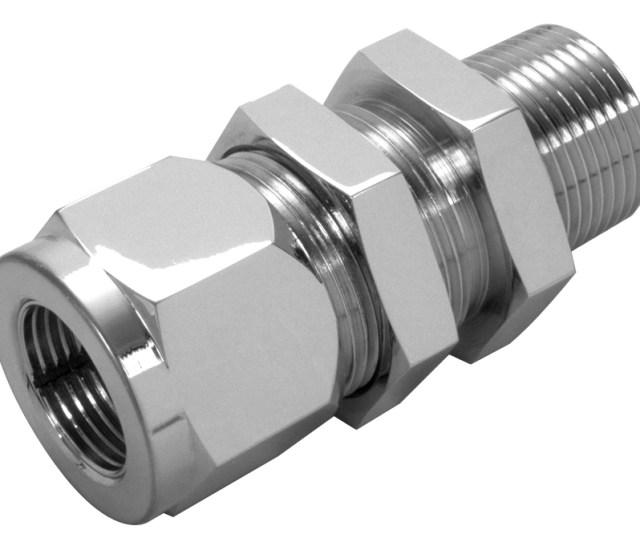 Bulkhead Male Npt Tube Connector